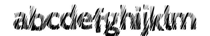 LoveScratch Font LOWERCASE