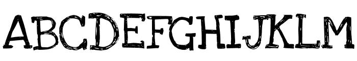 LoveYaLikeASister Font UPPERCASE
