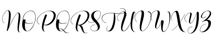 Lovea Font UPPERCASE