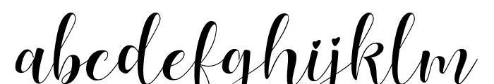 Lovea Font LOWERCASE