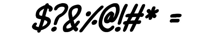 Lovehearts XYZ Italic Font OTHER CHARS