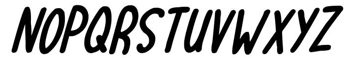 Lovehearts XYZ Italic Font LOWERCASE