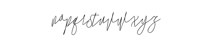 Lovellyana Free Font LOWERCASE