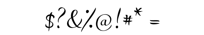 LovelyAudreyBG Font OTHER CHARS