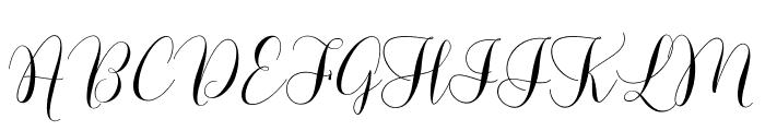 LovelyDramatisDemo Font UPPERCASE
