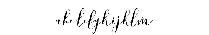 LovelyDramatisDemo Font LOWERCASE