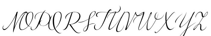 LovelyGraceBG Font UPPERCASE