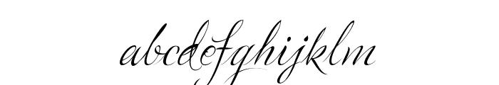LovelyGraceBG Font LOWERCASE
