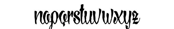 LovelyMadness_Demoversion Font LOWERCASE