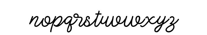LovelyValentine Font LOWERCASE
