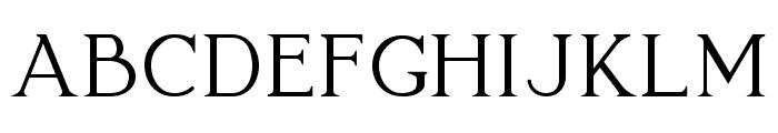 Lovelyn Font UPPERCASE
