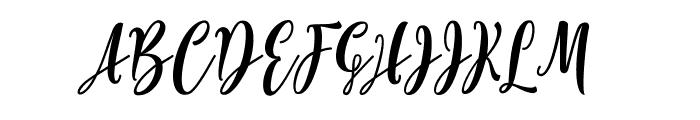 Lovelyou free Font UPPERCASE
