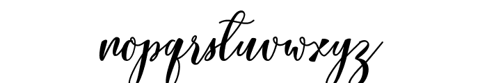 Lovelyou free Font LOWERCASE