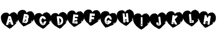 Loverboy Font UPPERCASE