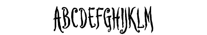 Lovesick AOE Font UPPERCASE