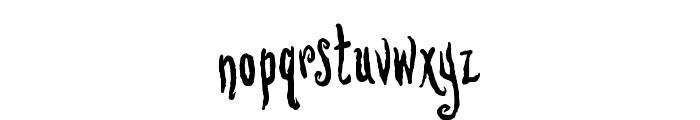 Lovesick AOE Font LOWERCASE