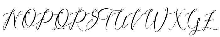 Lovestrong Font UPPERCASE