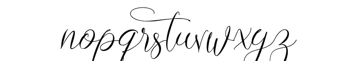 Lovestrong Font LOWERCASE