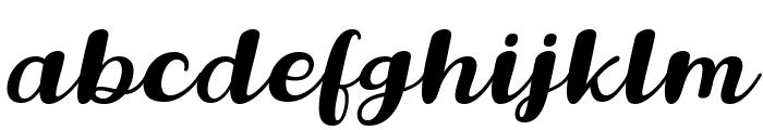 Lovina October Five Italic Font LOWERCASE