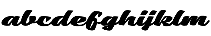 Low Casat Fat PERSONAL USE Font LOWERCASE