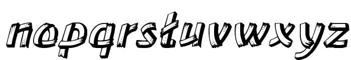 LowEa Italic Font LOWERCASE