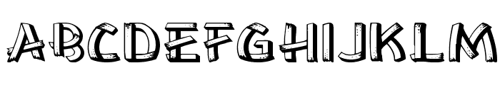 LowEa Wd Font UPPERCASE