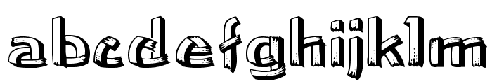 LowEa Wd Font LOWERCASE