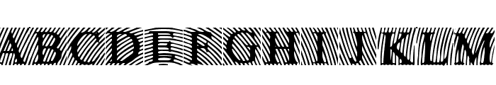 LowEngravedCapsDark Font UPPERCASE