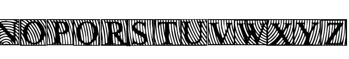 LowEngravedCapsDark Font LOWERCASE