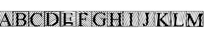 LowEngravedCapsLight Font LOWERCASE