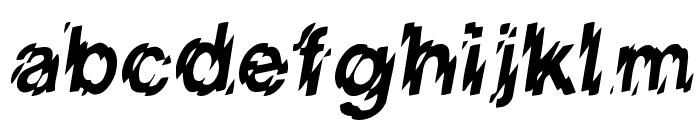 LowWe Regular Font LOWERCASE