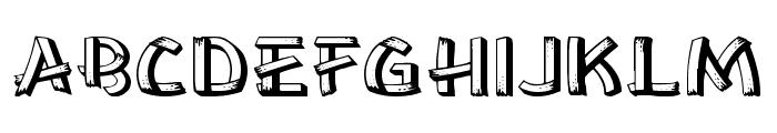 Lower East Side Wide Font UPPERCASE
