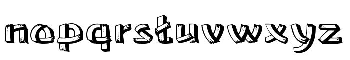 Lower East Side Wide Font LOWERCASE