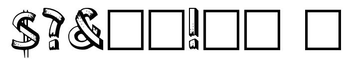 Lower-EastSide Regular Font OTHER CHARS