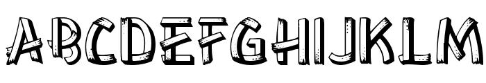 Lower-EastSide Regular Font UPPERCASE