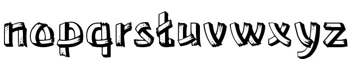 Lower-EastSide Regular Font LOWERCASE