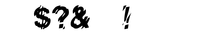 Lower-WestSide Font OTHER CHARS