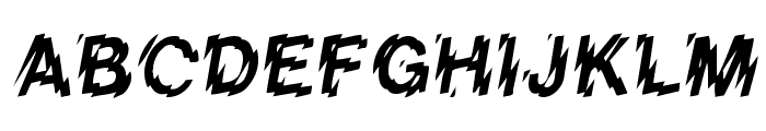 Lower-WestSide Font UPPERCASE