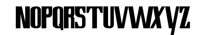 Lowery Regular Font LOWERCASE