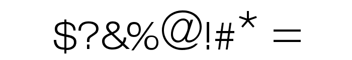 Lowvetica Font OTHER CHARS