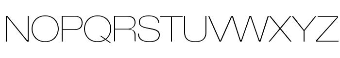 LowveticaUltraThin Font UPPERCASE