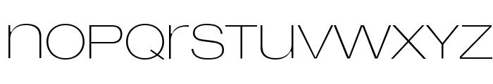 LowveticaUltraThin Font LOWERCASE