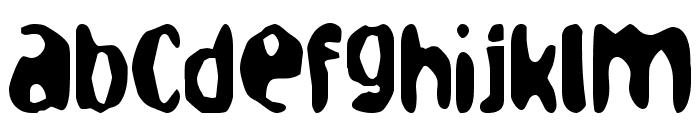 loaf Font LOWERCASE