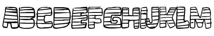 loco tv Font UPPERCASE