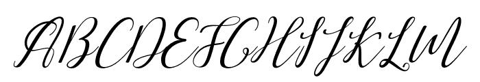 lovemalia-artdesign Font UPPERCASE