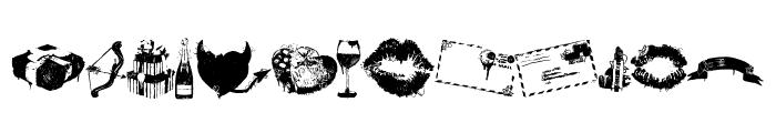 lovemarks Font LOWERCASE