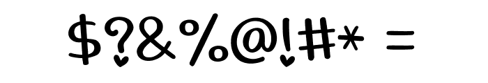 lovingyou Font OTHER CHARS
