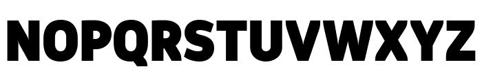 Logical Black Font UPPERCASE