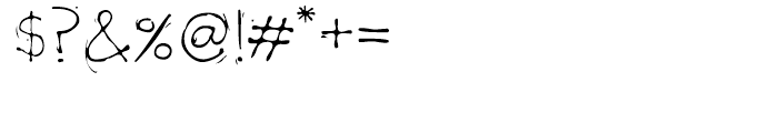 Lobat Regular Font OTHER CHARS