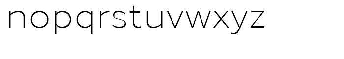 Loew Light Font LOWERCASE